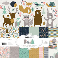 Kaisercraft: Paper Pack with Bonus Sticker Sheet - Hide & Seek image