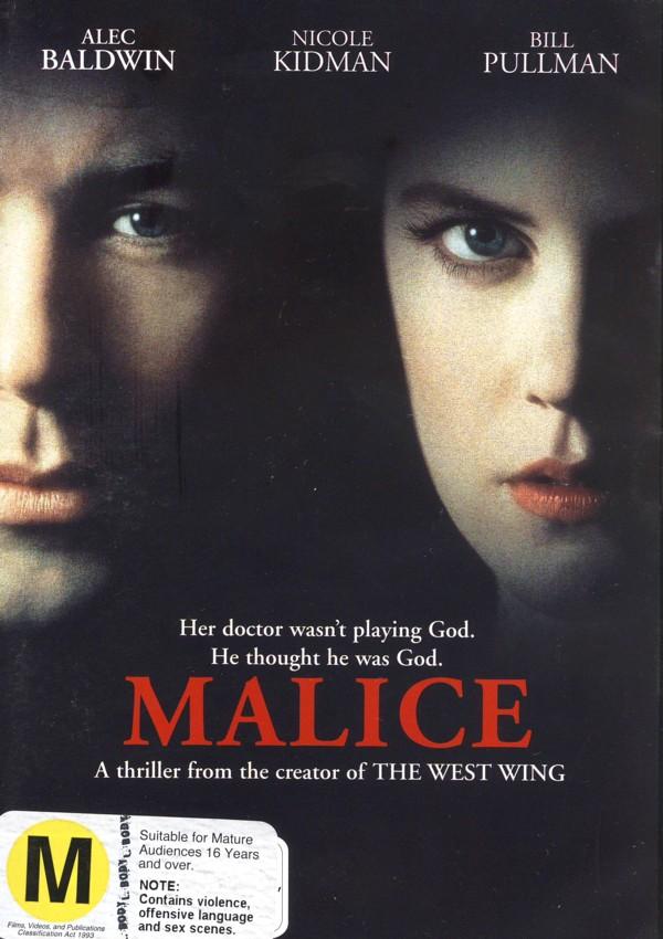Malice on DVD image