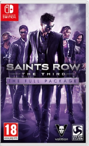 Saints Row: The Third for Switch