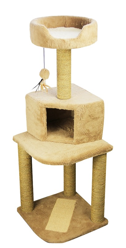Pawise: Cat Tower - 45x45x128cm