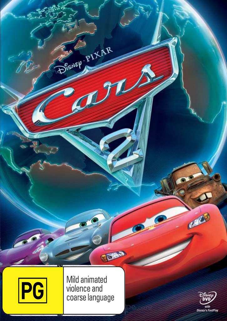 Cars 2 on DVD image