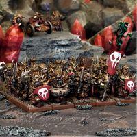 Kings of War Abyssal Dwarf Immortal Guard Regiment