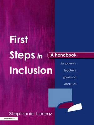 First Steps in Inclusion by Stephanie Lorenz