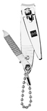 QVS Classic Nail Clipper With File/Keychain