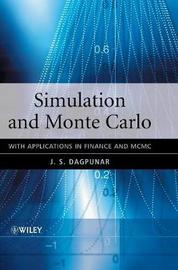 Simulation and Monte Carlo by J S Dagpunar image