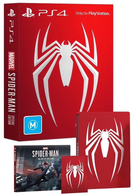Spider-Man Special Edition | PS4 | Buy Now | at Mighty Ape NZ