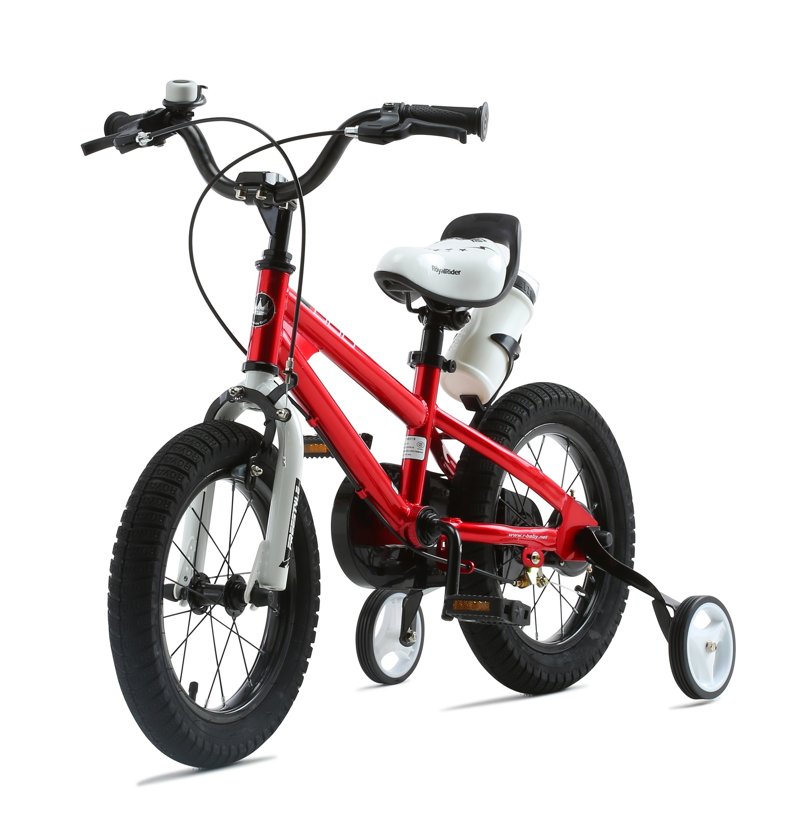 """RoyalBaby: BMX Freestyle - 12"""" Bike (Red) image"""