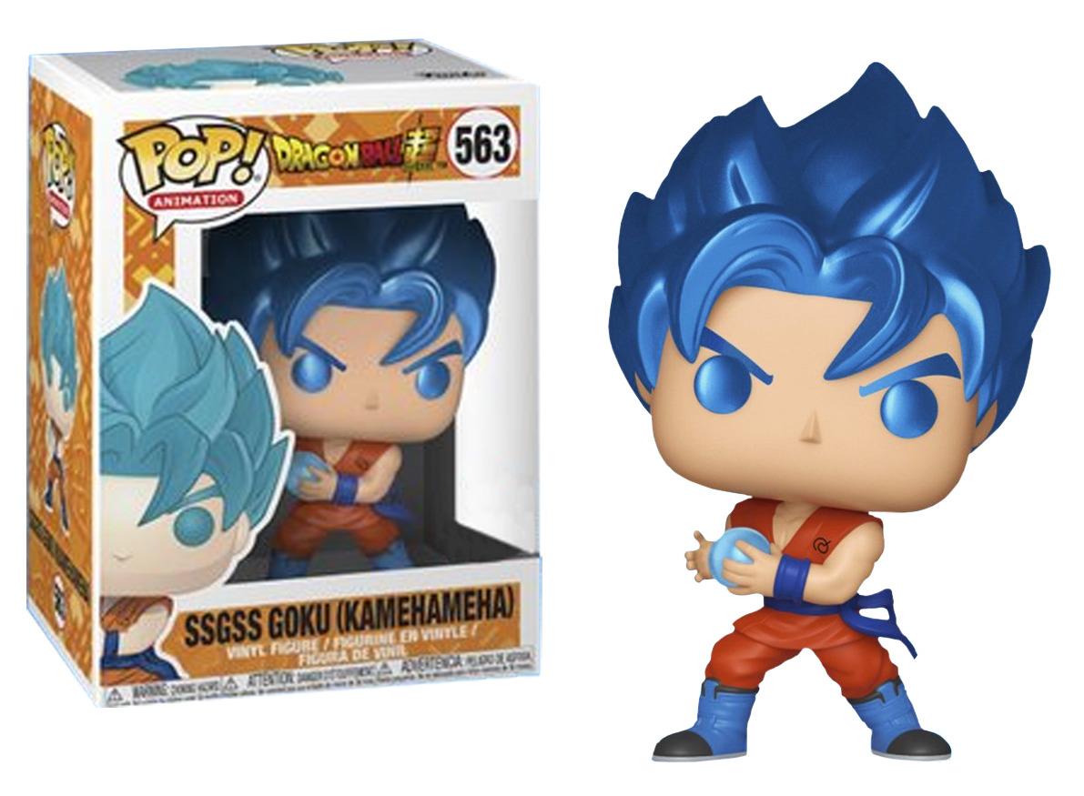 Dragon Ball Super – SSGSS Goku Kamehameha (Metallic) Pop! Vinyl Figure image
