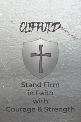 Clifford Stand Firm in Faith with Courage & Strength by Courageous Faith Press image