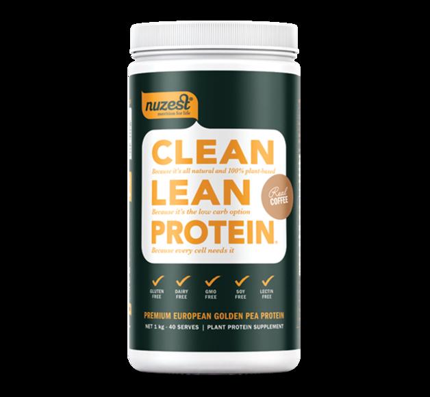 Nuzest: Clean Lean Protein - Real Coffee (1kg)