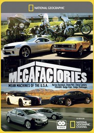 National Geographic: Megafactories - Mean Machines of the USA on DVD