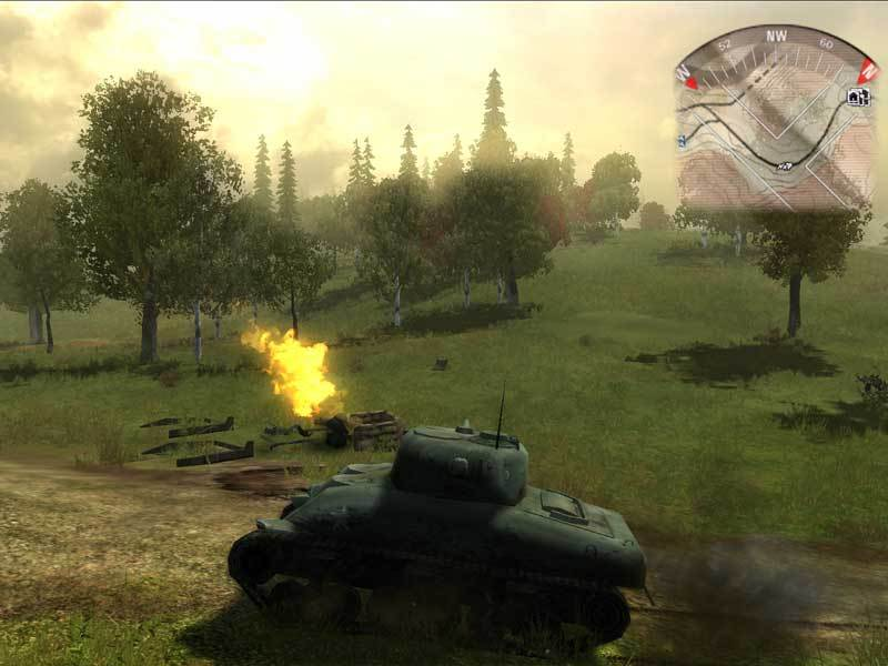 Panzer Elite Action: Fields of Glory screenshot