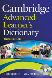 Cambridge Advanced Learner's Dictionary with CD-ROM image