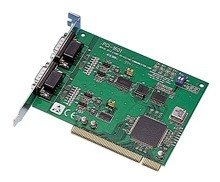 Advantech 2 Port PCI RS-422/485 Comms Card + Surge
