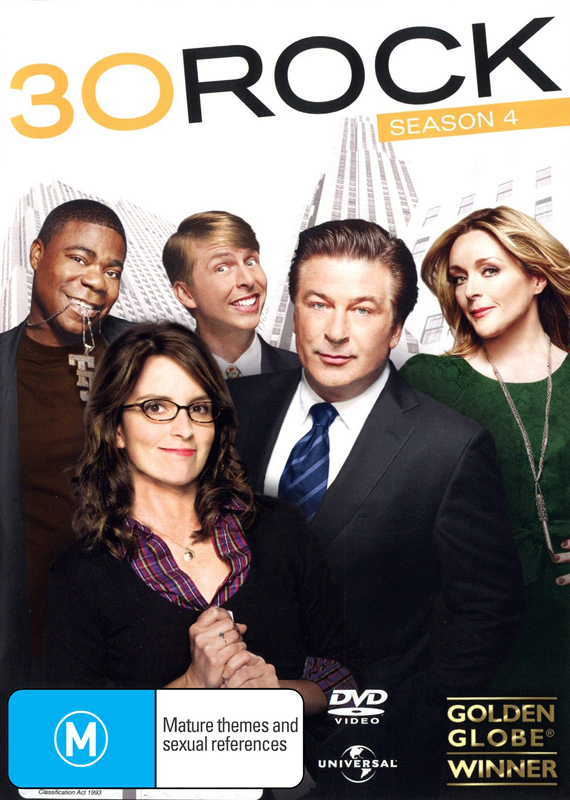 30 Rock - Season 4 on DVD