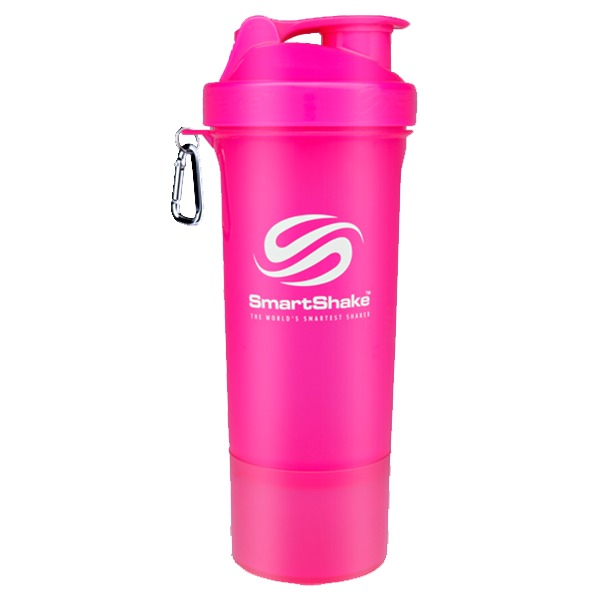 Smartshake Slim 400ml Neon Pink