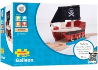 Bigjigs - Pirate Galleon