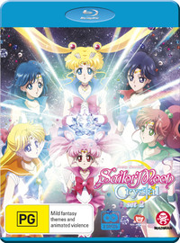 Sailor Moon Crystal: Set 2 (Eps 15-26) on Blu-ray