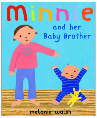 Minnie And Her Baby Brother by Melanie Walsh image