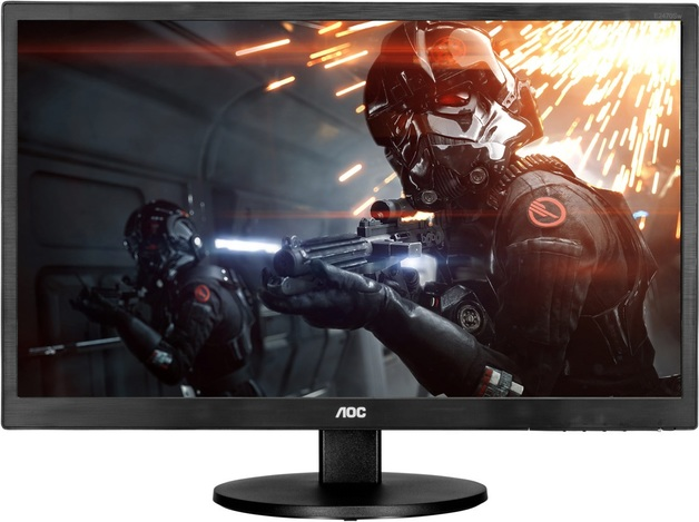 "23.6"" AOC 1920x1080 1ms Ultra Fast Entry Level Gaming Monitor"