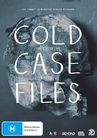Cold Case Files on DVD
