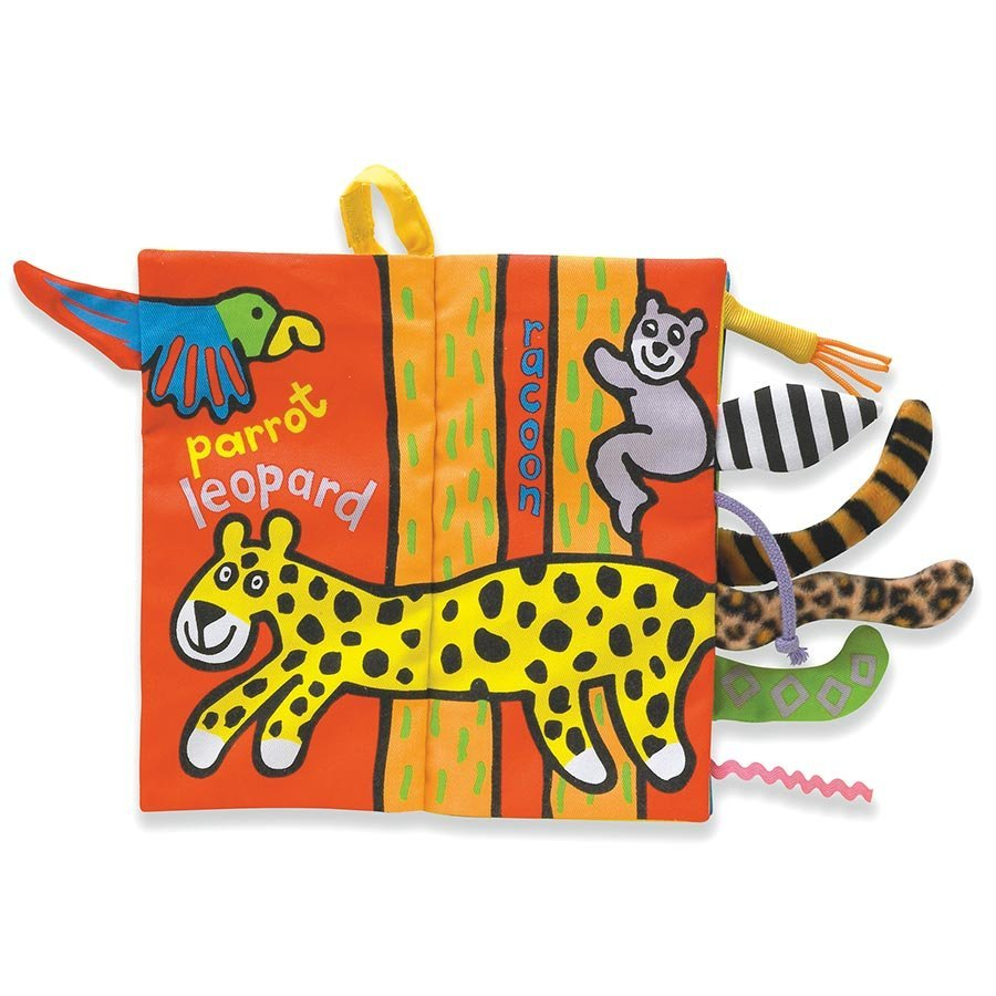 Jellycat Book - Jungly Tails image