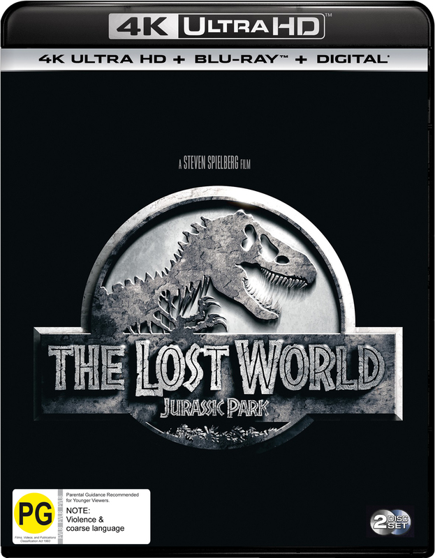 Jurassic Park II - The Lost World on UHD Blu-ray
