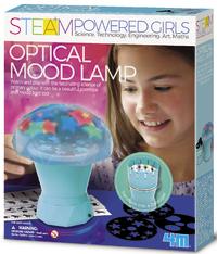 4M STEAM Girls: Optical Mood Lamp Science Kit image