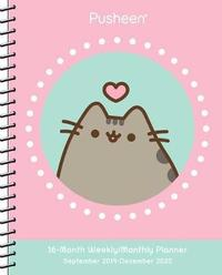Pusheen 2019-2020 Weekly/Monthly Planner Calendar by Claire Belton image