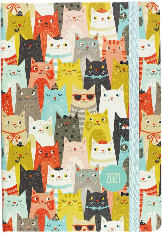 Peter Pauper Press: Cats 2021 Weekly Planner