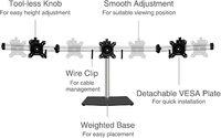 Gorilla Arms Triple Monitor Stand