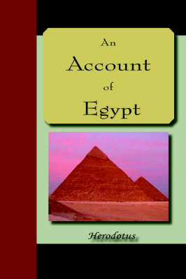 An Account of Egypt by . Herodotus image
