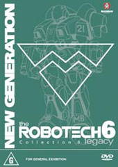 Robotech - New Generation: Collection 6 on DVD
