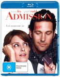 Admission on Blu-ray