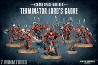 Chaos Space Marine Terminator Lord's Cadre