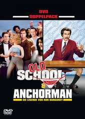 Old School / Anchorman - Comedy 2 Movie Pack (2 Disc Set) on DVD