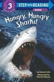 Step into Reading Hungry Sharks # by Joanna Cole image