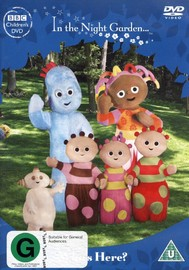 In the Night Garden: Who's Here? on DVD image