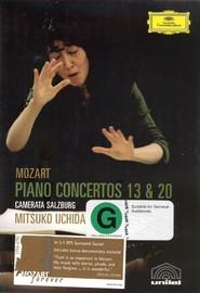 Mozart - Piano Concertos 13 & 20 (Mitsuko Uchida) on DVD image