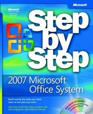 2007 Microsoft Office System Step by Step by Curtis Frye image