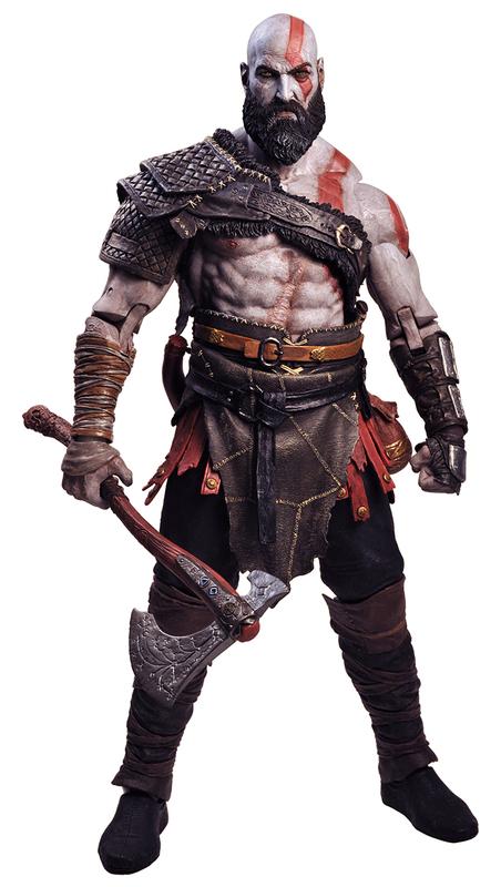 "God of War (2018) - Kratos 18"" Action Figure"