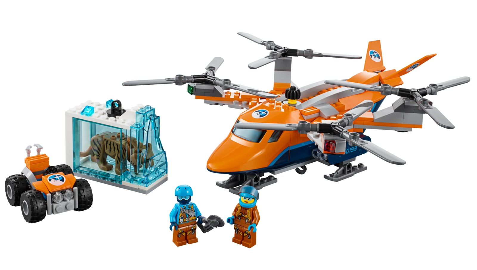 LEGO City - Arctic Air Transport (60193) image