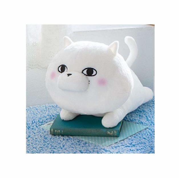 Yosi Stamp Lying Down Plush - Nukosama (Cat)