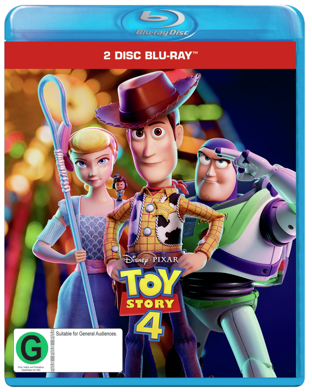 Toy Story 4 on Blu-ray