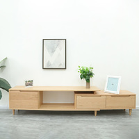 Aurora Natural Solid Oak TV Cabinet