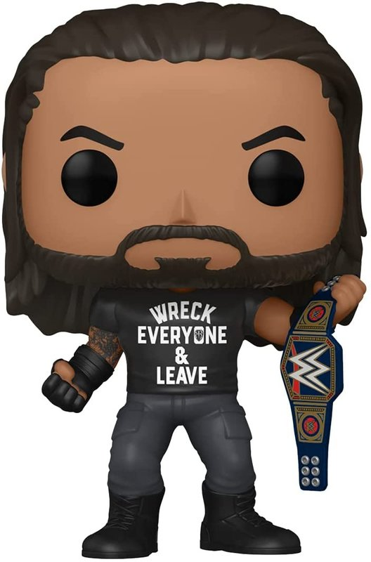 WWE: Roman Reigns ('Wreck') - Pop! Vinyl Figure