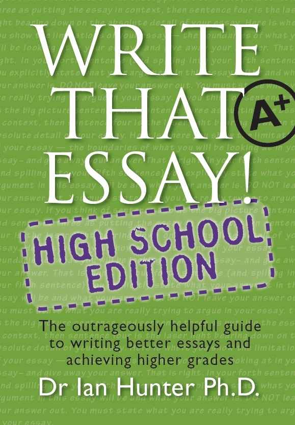 helpful guide to essay writing Writing an academic essay means fashioning a it's helpful to think of the different essay sections as answering overview of the academic essay essay structure.
