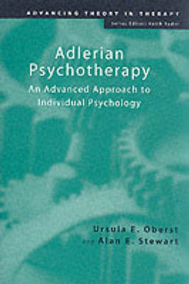 Adlerian Psychotherapy by Ursula E. Oberst