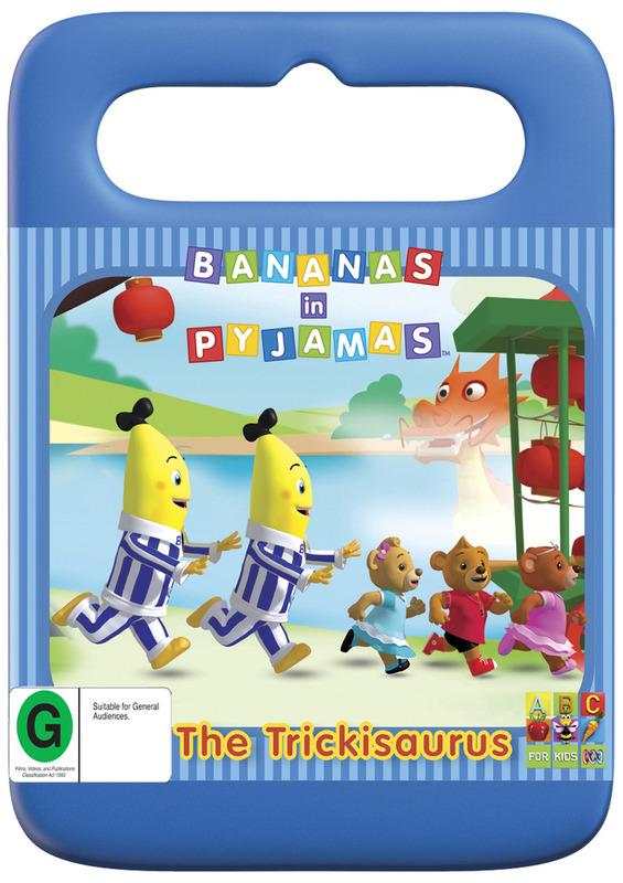 Bananas in Pyjamas: The Trickisaurus on DVD