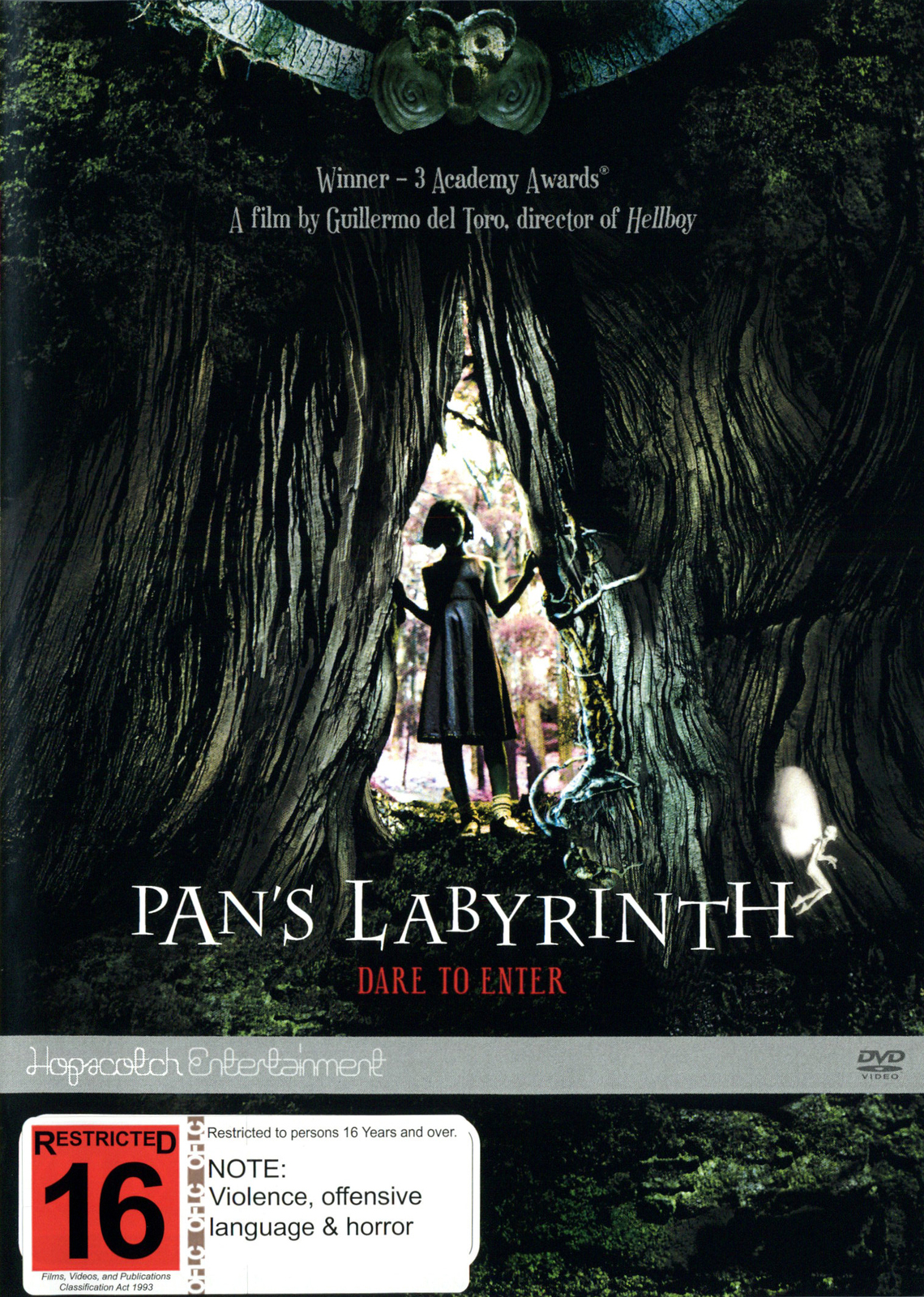 Pan's Labyrinth on DVD image